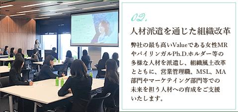 フラームジャパン代表飯嶋真美の人材派遣について