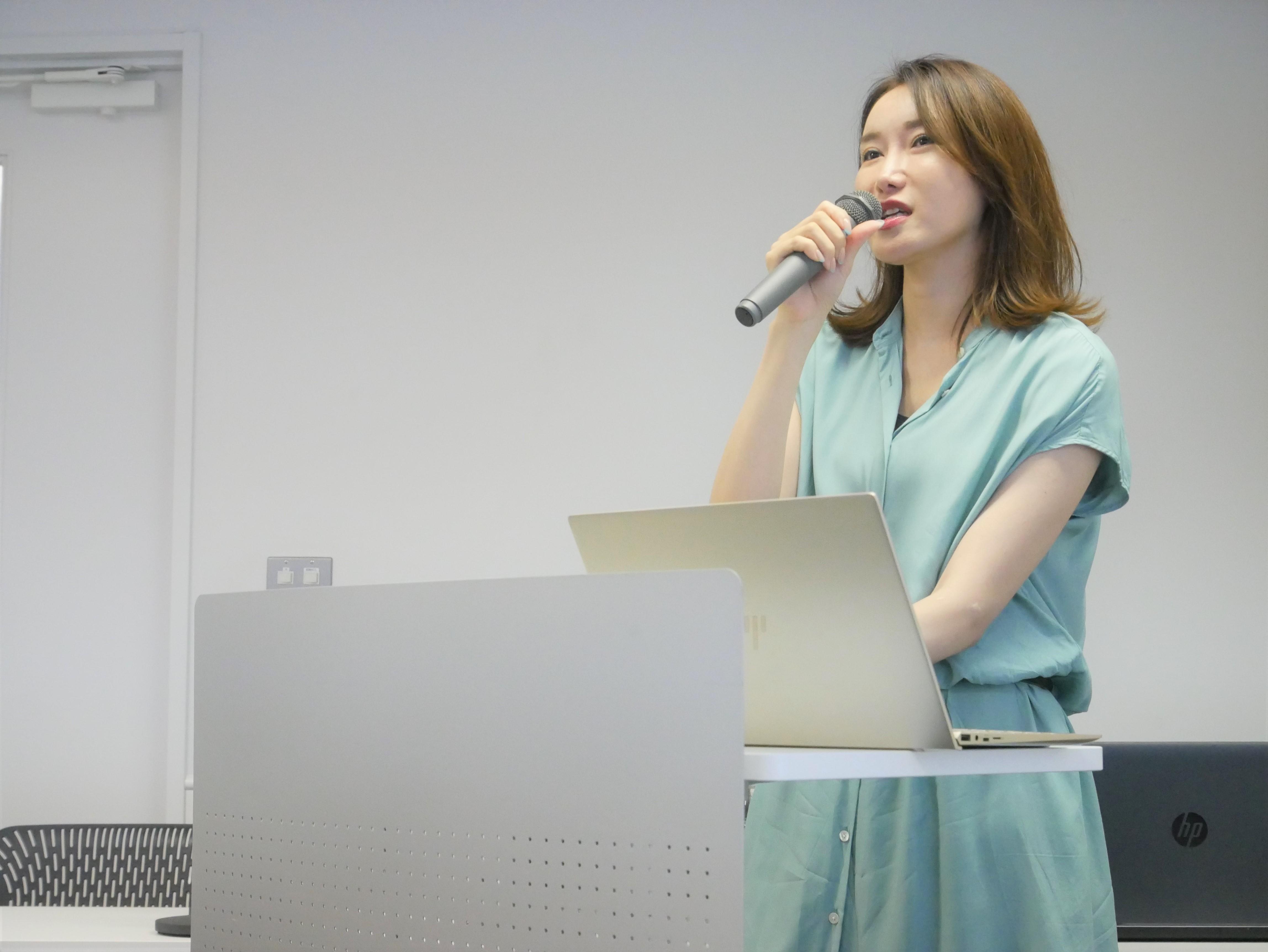 飯嶋真美フラームジャパン女性MR向け大阪カンファ
